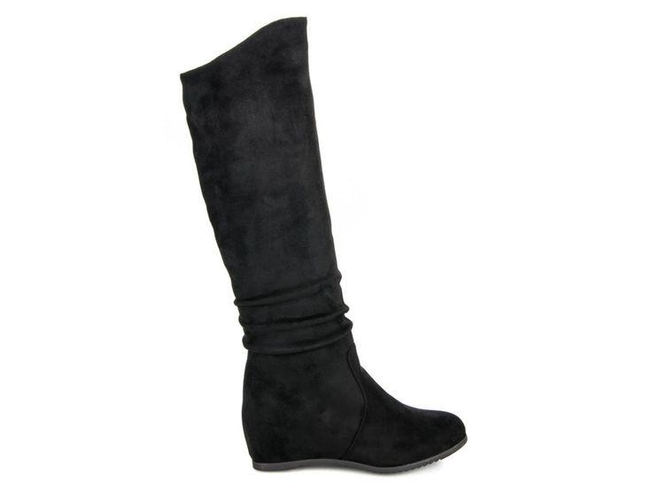 Čierne čižmy pod koleno Rita