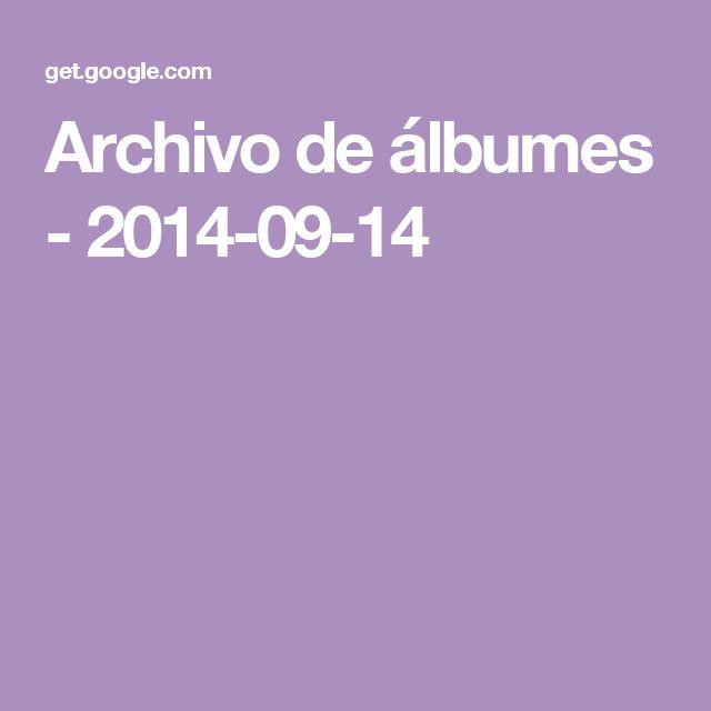 Archivo de álbumes - 2014-09-14