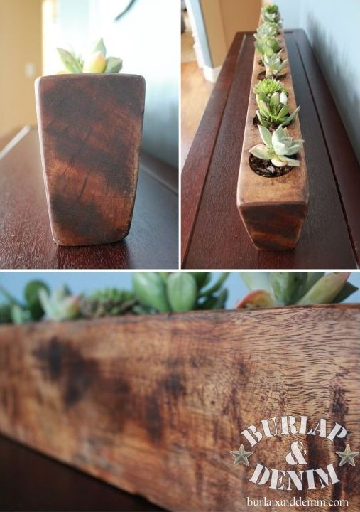 Funky Junk Interiors: Make a 2x4 pencil holder in 5 minutes!
