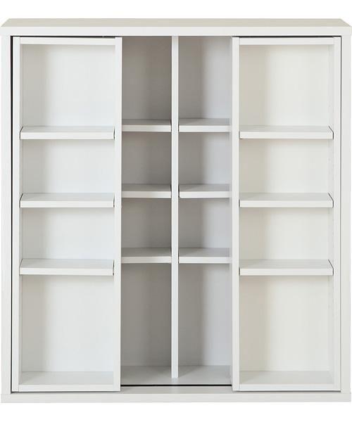 スライド書棚(グラッテン9080 WH): オフィス家具・本棚・文房具 - 【ニトリ】公式通販 家具・インテリア通販のニトリネット
