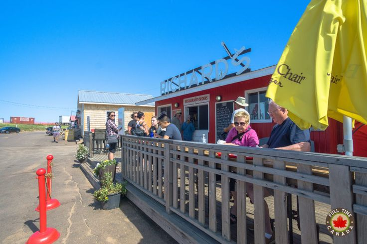 The best fish'n'chips in PEI? Read more about our time visiting PEI National Park.