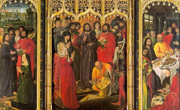 Никола Фроман. Воскрешение Лазаря. 1461 г.