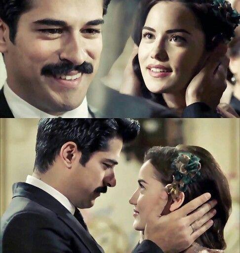 """Fahriye Evcen & Burak Ozcivit in Calikusu or """"Love bird"""""""