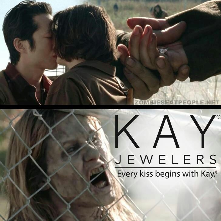 Meet Kay - The Walking Dead Best way to get a ring; just go Walker shopping.