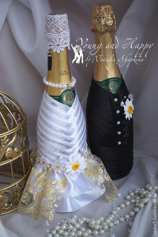 """Купить набор свадебных аксессуаров коллекция """"Ромашки"""" - белый, комплект аксессуаров, свадебные, свадебные купить"""