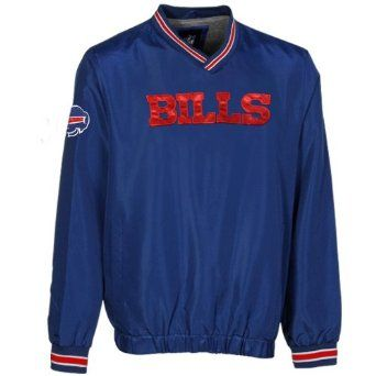 Amazon.com: NFL Buffalo Bills Preseason Wordmark Pullover Jacket - Royal Blue: Sports & Outdoors