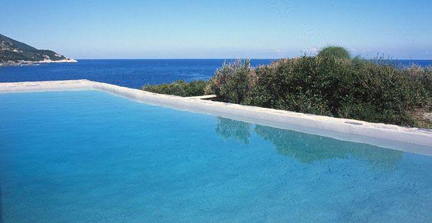 Grecia, piscina