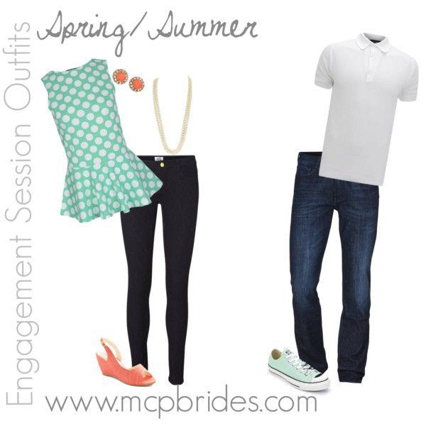 Spring/Summer Engagement Session Outfit Ideas Mint mcpbrides.com Elizabethtown, KY