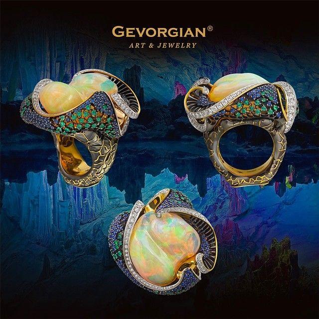 "New ring from GEVORGIAN. Amazing ! 💕💕💃💃 (@gevorgian_jewelry) on Instagram: GEVORGIAN www.gevorgian.ru #jewelery #Ring #Dragonfly…"""