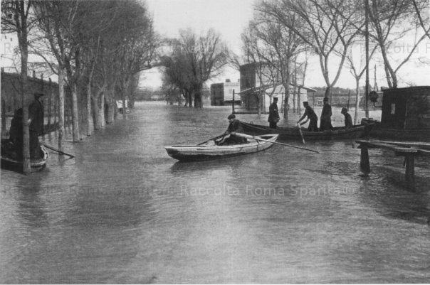 : Alluvione via Ostiense Anno: 1923