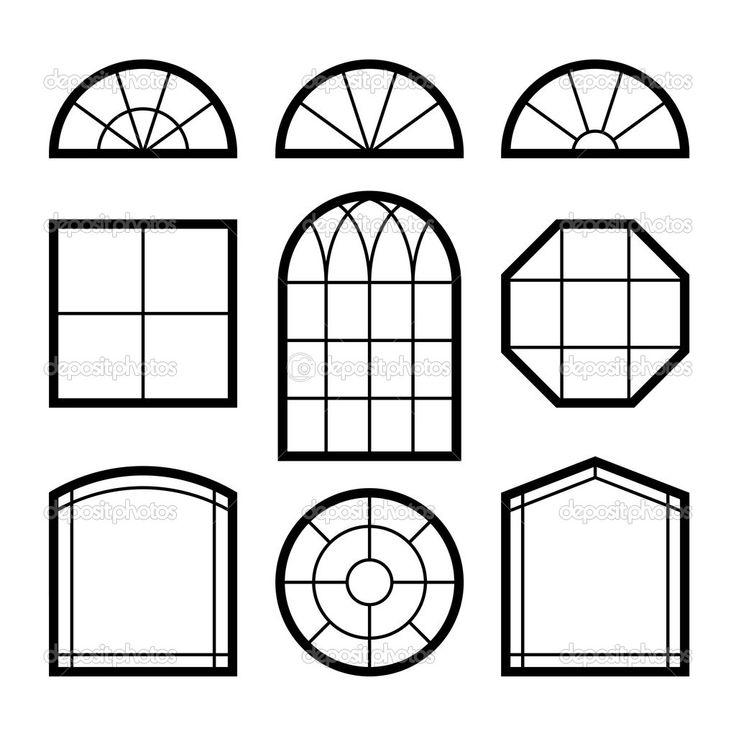 window and door exterior drawing illustration - Google Search  sc 1 st  Pinterest & 8 best tegn vinduer images on Pinterest | Door ideas Doorway ideas ...