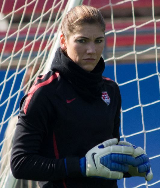10. Hope Solo – $ 22,000 Top 10 Highest Paid Female Soccer Players 2015:- http://www.sportyghost.com/top-10-highest-paid-female-soccer-players/ #soccer #football #uswnt
