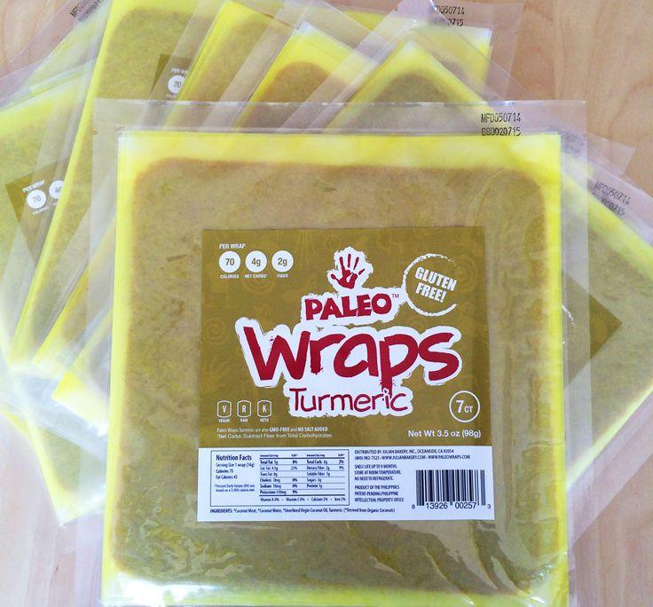 Paleo Smoked Turkey Tortilla Wraps