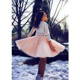 TUTU Skirt - Fusta tutu extrem de vesela si copilaroasa, dar foarte chic si eleganta.