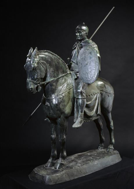 Cavalier romain par Emmanuel Frémiet, commande de Napoléon III, 1866, H. 1,47 m. © RMN-GP (MAN) / H. Lewandowski En savoir plus sur les collections du musée : http://musee-archeologienationale.fr/collection/parcourir-les-collections