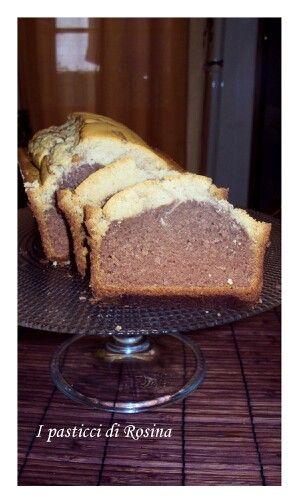 Plumcake all'arancia e cacao, senza glutine e senza lattosio!