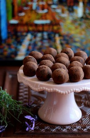 brownie golyók