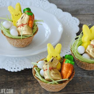 The 25 best edible grass ideas on pinterest christmas mini edible easter baskets what a great idea the basket the goodies and negle Choice Image