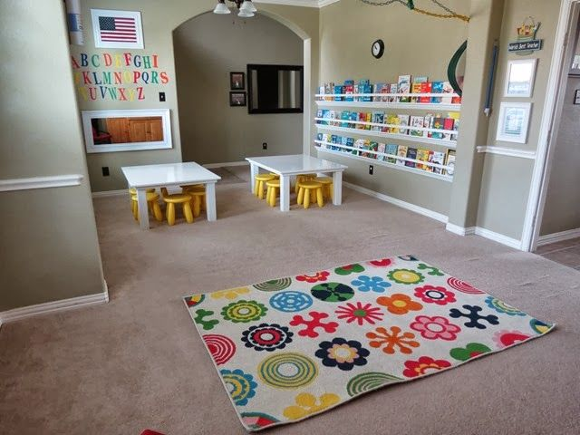 classroom preschool homeschool kindergarten ikea rug wwwstylewithcentsblogspotcom - Home School Furniture