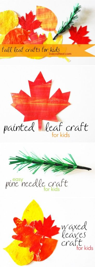 awesome autumn leaf making crafts for kids
