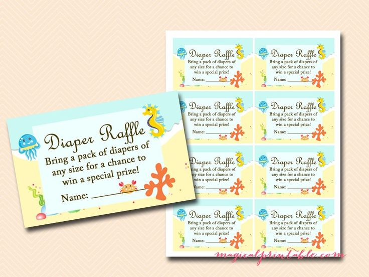 Under The Sea Baby Shower Game Printables, Beach Baby Shower Game Pack,  Instantu2026