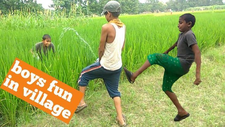 Boy.s fun in village full comedy video गॉव के लड़कों की फुल कॉमेडी वीडियो