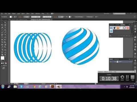 "Tutorial Adobe Illustrator CC ""Crear Logo en 3D Español"" - YouTube"