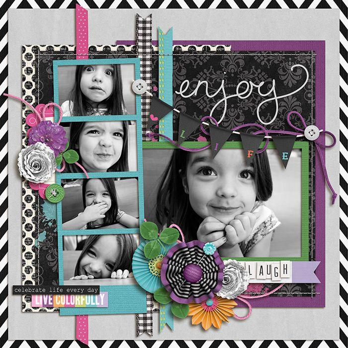 Enjoy Life... Laugh! - Scrapbook.com