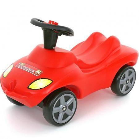 """Wader Каталка автомобиль Пожарная команда  — 2486р. ------------ Каталка-автомобиль """"Пожарная команда"""" со звуковым сигналом красногоцвета маркиWader. Прочная каталка имеет идеальные аэродинамические формы, а также очень ровную и гладкую поверхность. Конструкция каталки сделана таким образом, что детская машинка полностью защищена от переворачивания или других происшествий на дороге. Каталкой управлять предельно просто, это поймет даже самый маленький ребенок. Малыш может садиться на…"""