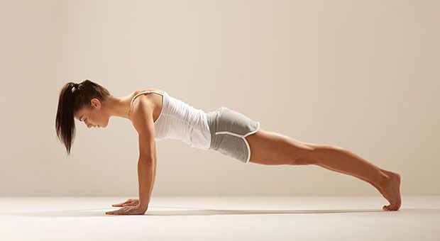 The classic push-up comes close to a perfect exercise, challenging multiple muscle groups in the arms, chest, back, and core to build overall functional strength. | Health.com
