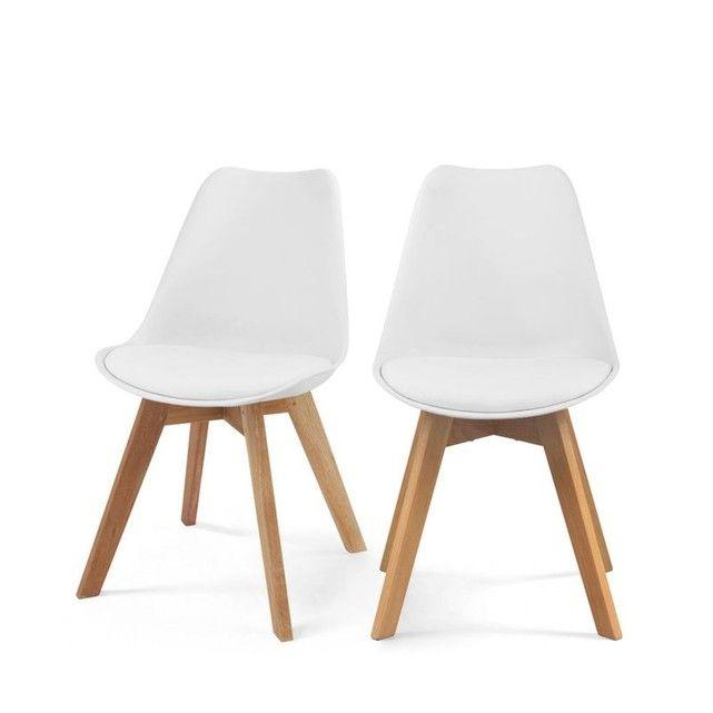 Lot de 2 chaises design Ormond Log DRAWER