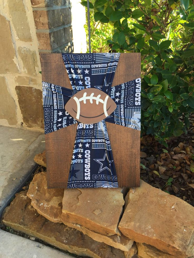 A personal favorite from my Etsy shop https://www.etsy.com/listing/482153346/dallas-cowboys-cross-dallas-cowboys-baby