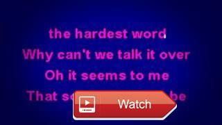 Elton John Sorry Seems To Be The Hardest Word NU Karaoke