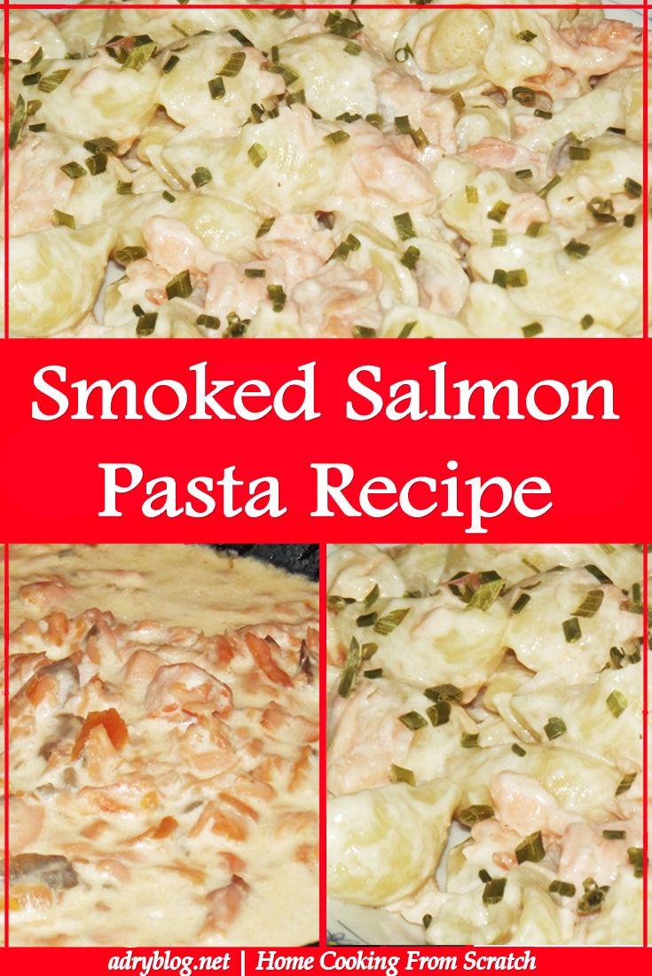smoked salmon pasta recipe