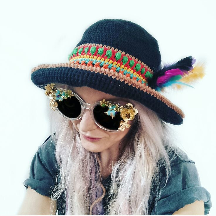 How amazing is this fun festival hat? Learn to easily crochet your own in whatever rainbow color you fancy! Head over to the LoveCrochet Blog for the FREE tutorial and make your own!