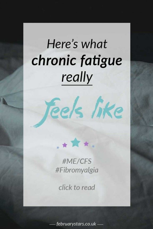 What chronic fatigue really feels like. Pin to save or click to read.