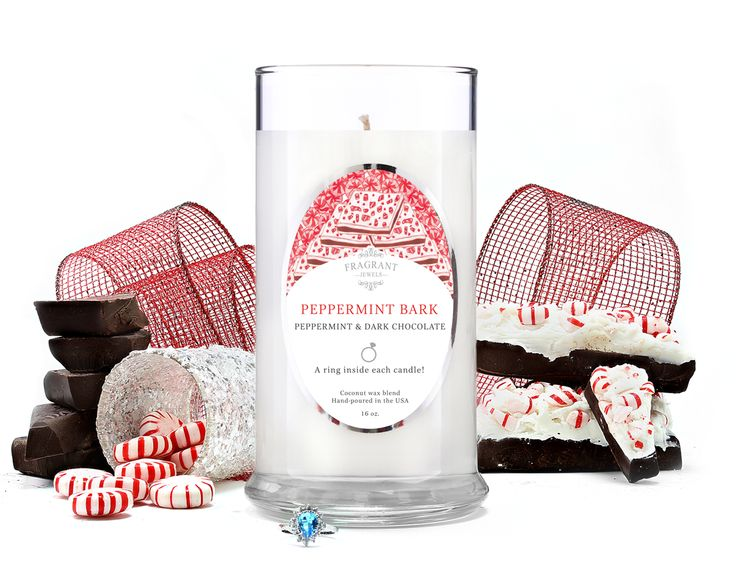 Peppermint Bark - Jewel Candle