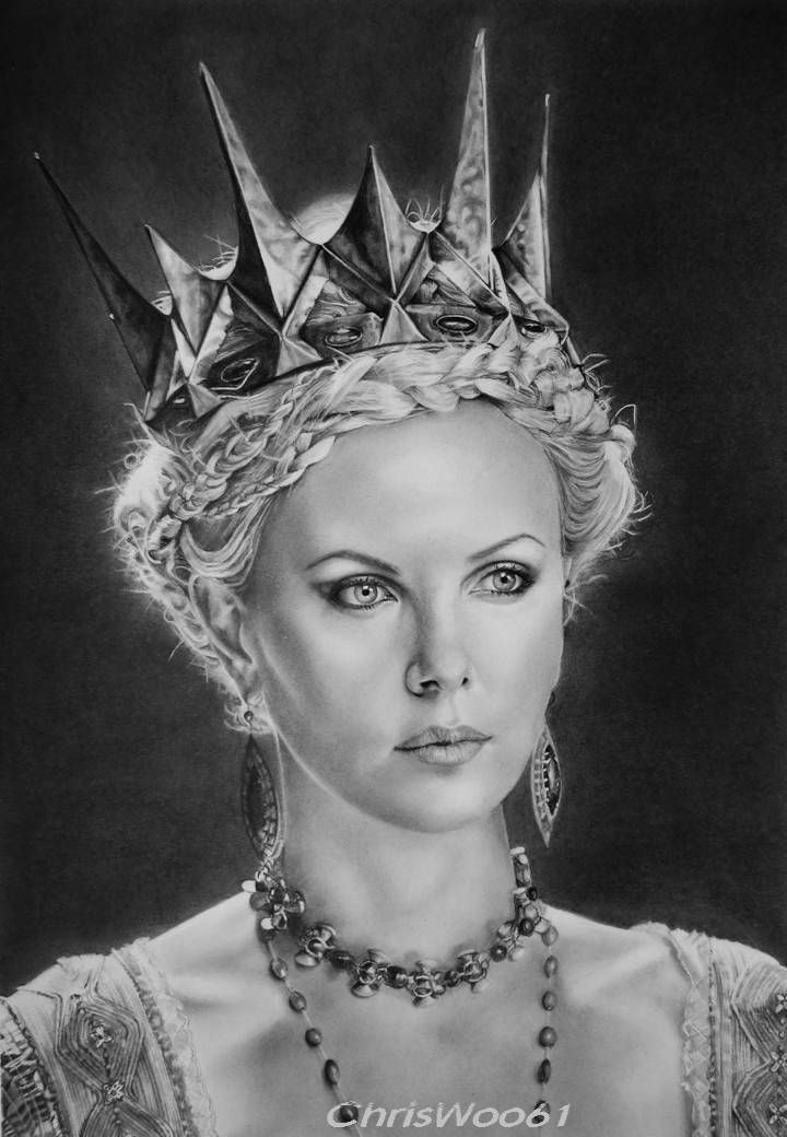Charlize Theron by ChrisWoo61.deviantart.com on @deviantART