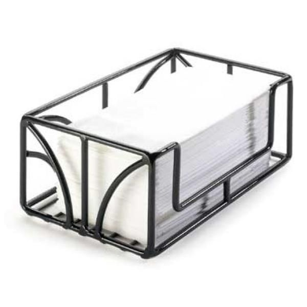 Paper Towel Holder Tabletop 10 W X 6 D X 4 H Black Powder Coated Wire Bpa Free Paper Towel Holder Guest Towel Holder Towel Holder Paper guest towel holder