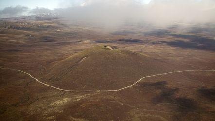 Luftbild von Tongariro Nationalpark - Neuseeland