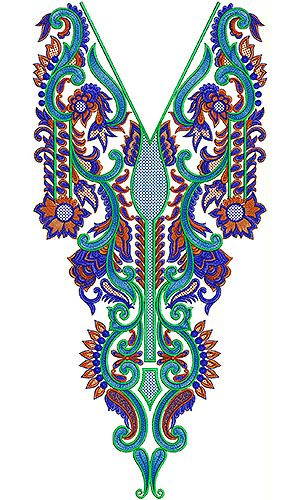 Punjabi Neck Designs For Embroidery 2014
