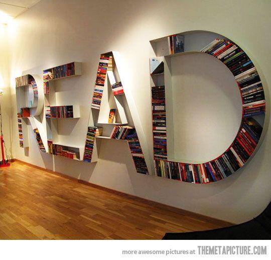 cool school bookcase | cool-bookcase-shape-design-modern