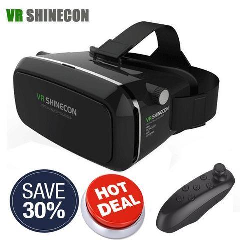 New Shinecon VR 2 Google cardboard VR BOX Virtual Reality 3D  VR Glasses VR…