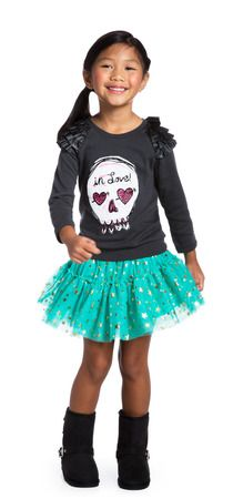 In love with this little number?!?!?! The Green Rebel outfit is currently available on FabKids.com in sizes 2-12 for all the Fashionistas out there!! #FabKids