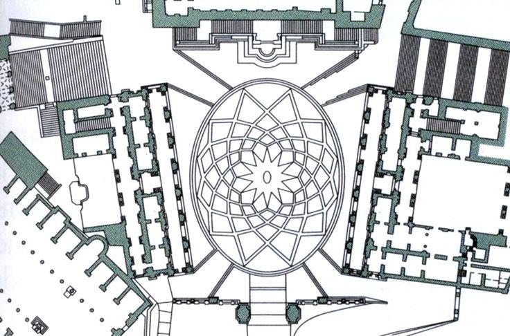 La geometría oval de la Piazza del Campidoglio de Miguel Ángel Buonarrotti. | Matemolivares
