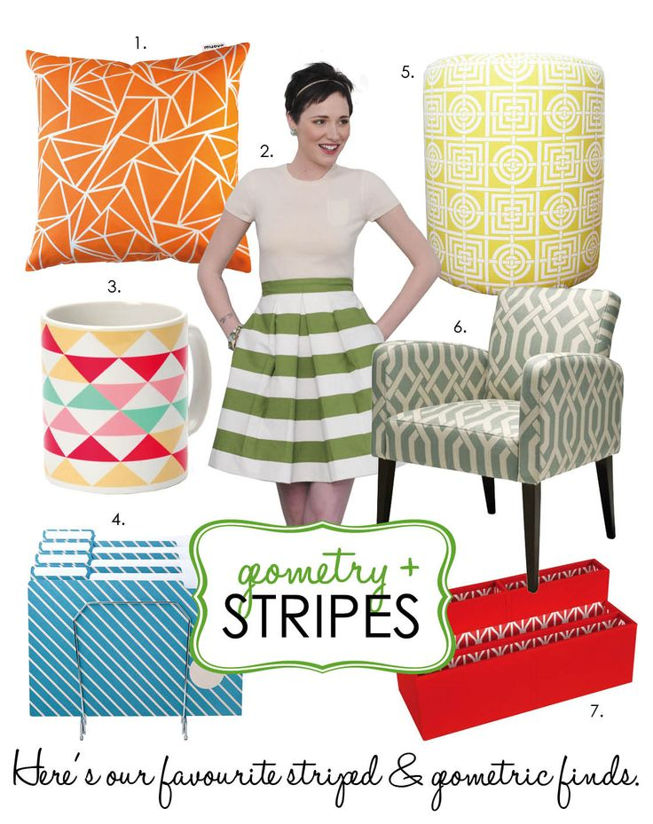 Adore Home magazine - Blog - Geometry & Stripes
