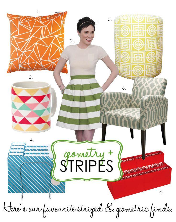 Adore Home magazine - Blog - Geometry &Stripes