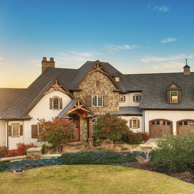 1000 images about stucco homes on pinterest stucco for Stucco homes with stone accents