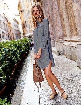 Elizabeth Shirt Dress Boden#outfits#für #frauen#d…