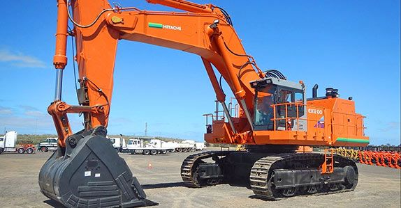 Hitachi ranks no. 4 in the 2014 Yellow Table ranking survey of top 5 construction equipment manufacturer